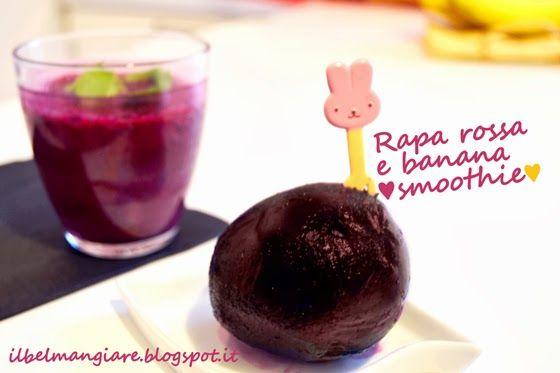 Frullato rapa rossa e banana: lo #smoothie della salute!