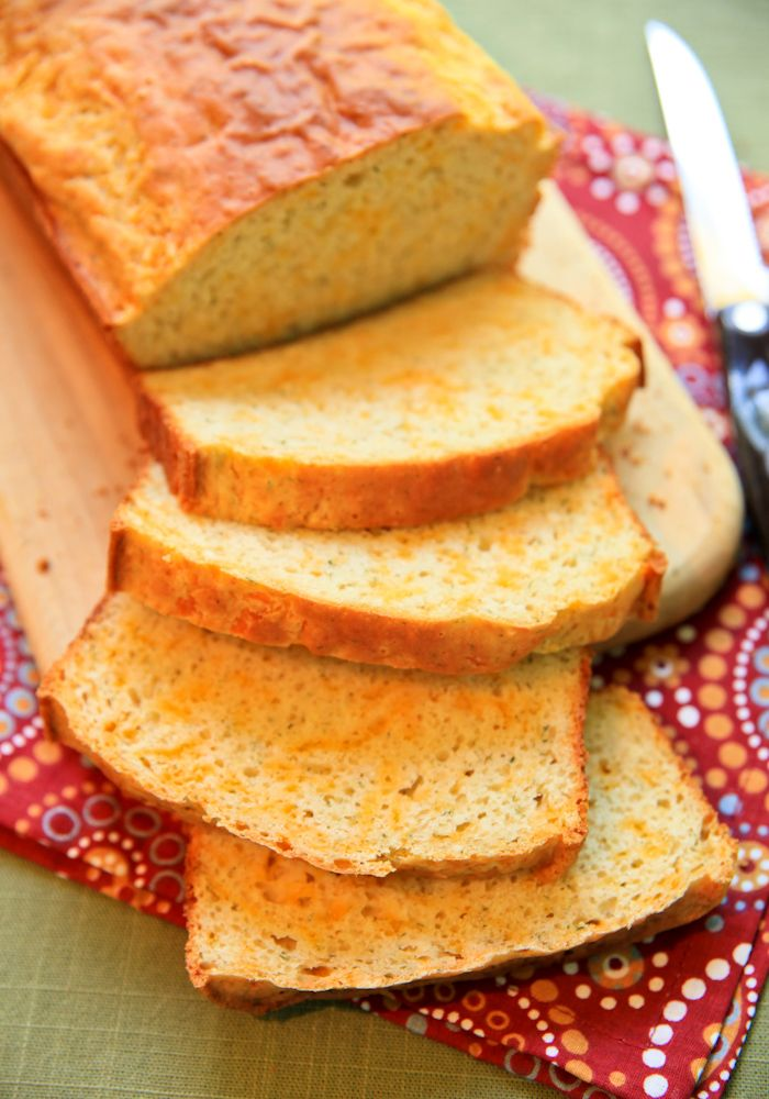 Bisquick Cheese Bread ... substitute garlic for dill & this bread ...