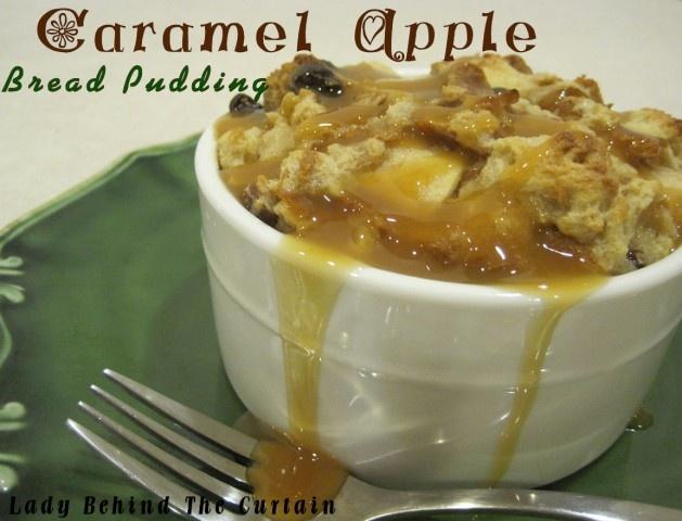Caramel Apple Bread Pudding Recipe — Dishmaps