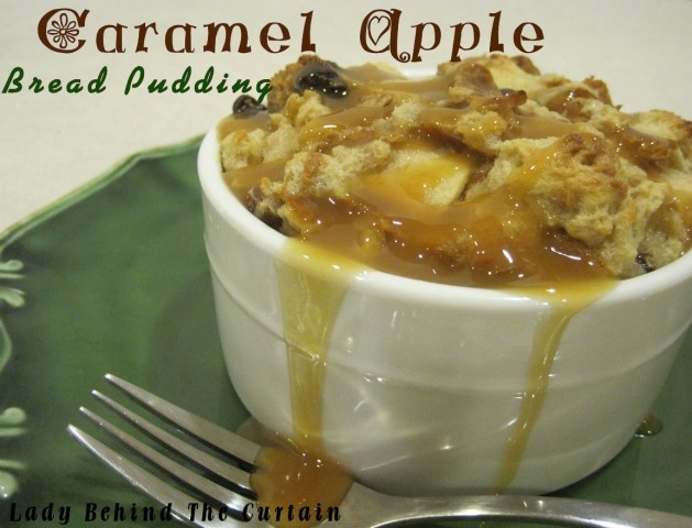 Caramel Apple Bread Pudding | Recipe