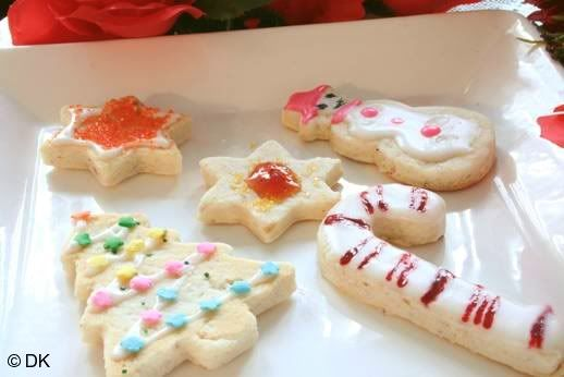 christmas shortbread cookies food desserts and sweet