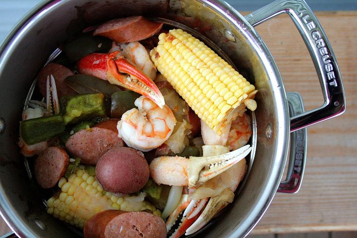 Low Country Boil #seafood   summer   Pinterest