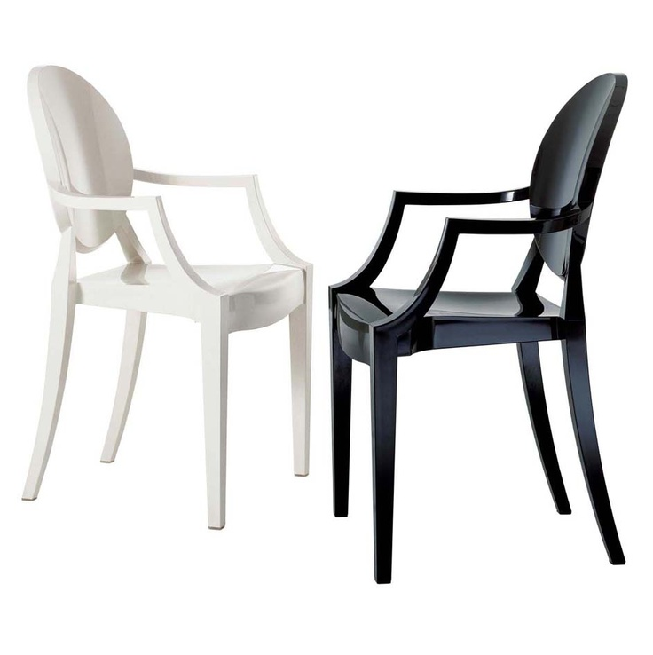 Starck louis ghost kartell design chairs pinterest - Chaise starck louis ghost ...