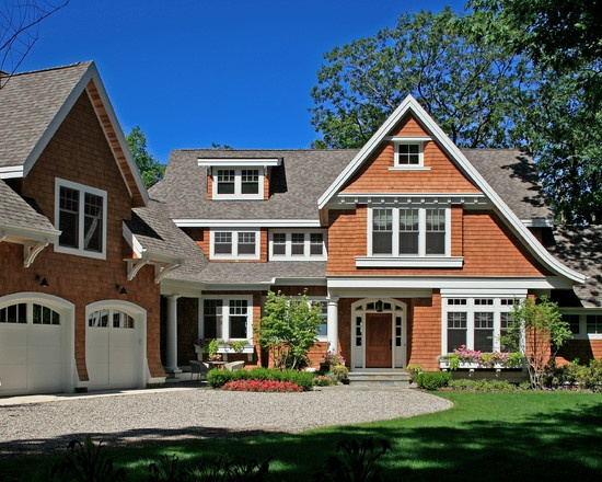 shingle style cottage on lake michigan house ideas