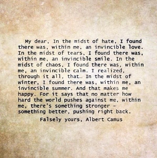 quotes from the stranger by albert Find the quotes you need in albert camus's the stranger, sortable by theme,  character, or chapter from the creators of sparknotes.