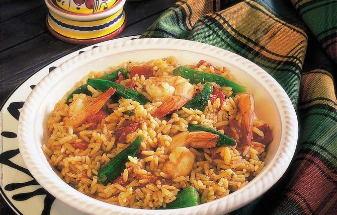 Creole Shrimp & Rice - Grandma loved cooking Creole style; it reminded ...