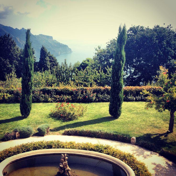 Villa cimbrone , ravello, amalfi coast