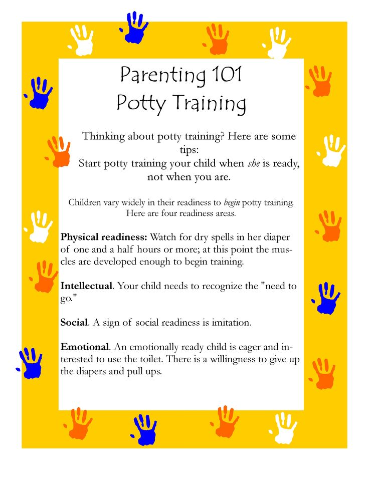 Potty training | Parenting Tips of the Week