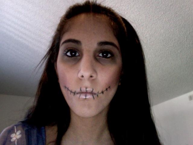Easy Halloween Skeleton Makeup LUUUX Halloween Pinterest - Simple Skeleton Halloween Makeup