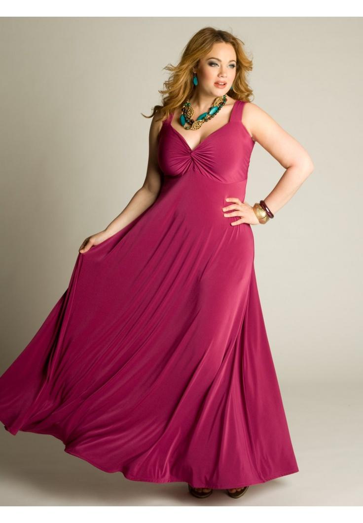 f&f plus length dresses