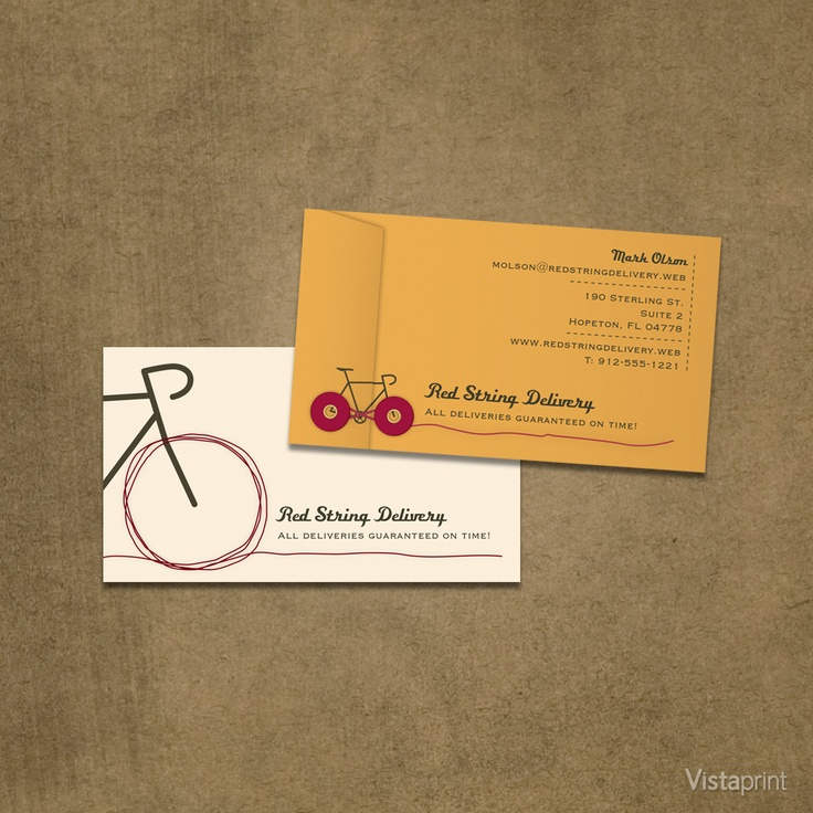Pin by vistaprint on vintage bicycle pinterest for Vistaprint com free business cards