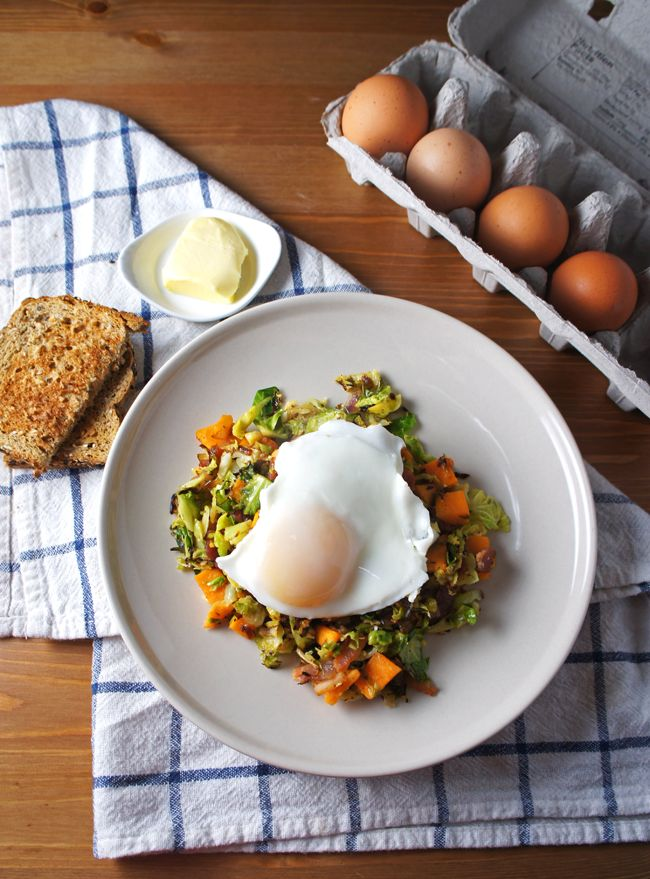 Related to Brussels Sprout Hash With Sweet Potato And Bacon On Closet