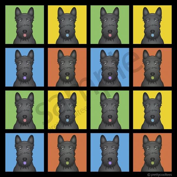 Scottish Terrier Cartoon Pop Art   ART POP   Pinterest