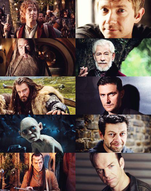 the hobbit cast lord of the hobbit pinterest