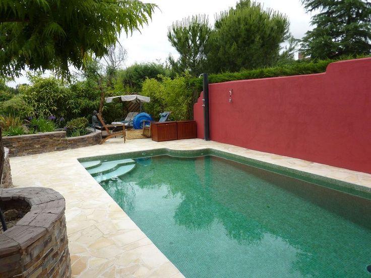 gresite verde piscina pinterest