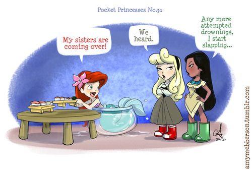 Pocket Princesses No. 30; Visitin'!