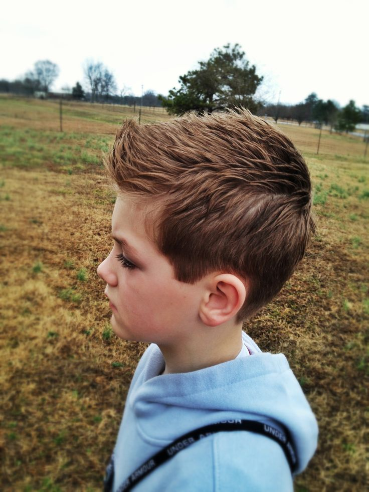 My little boys new hairstyle Gage Pinterest