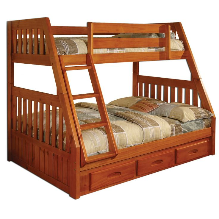 Twin Full Bunk Bed Honey Sam s Club