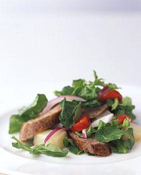Potato, Italian Sausage, and Arugula Salad   Recipe