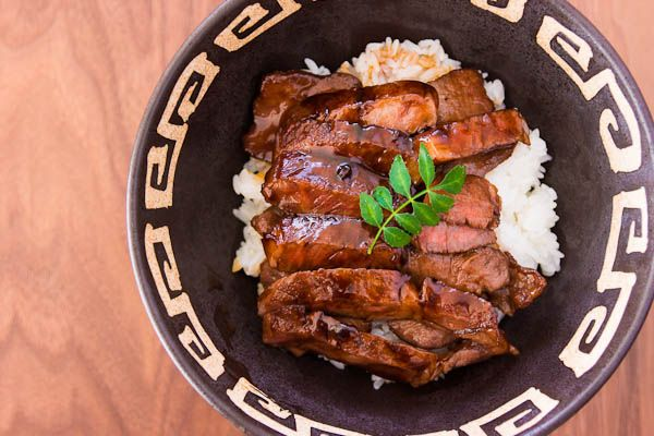 Beef Teriyaki Rice Bowl