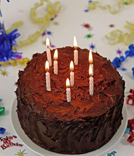 Paleo Birthday Vanilla Bean Cake with Chocolate Frosting - Paleo ...
