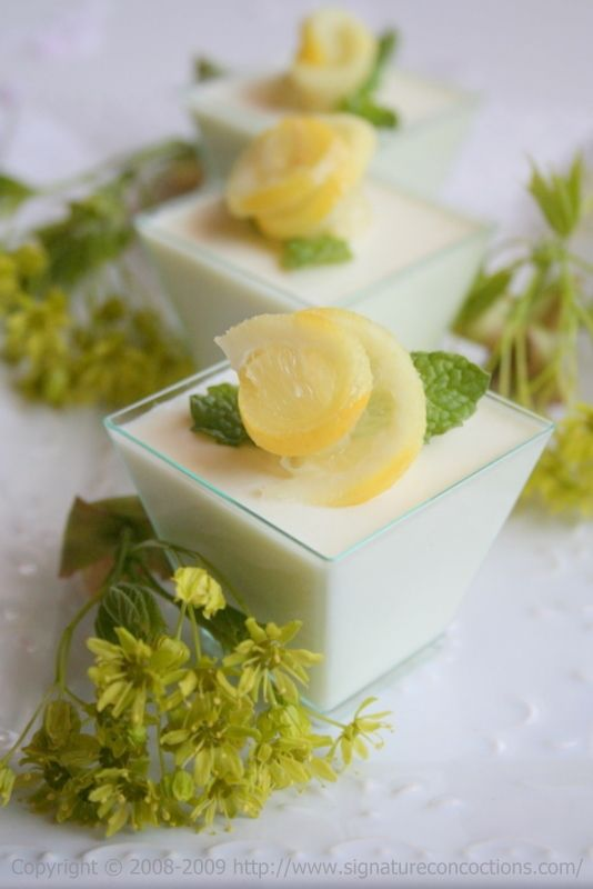 lemon panna cotta recipe allyou com lemon panna cotta with meyer lemon ...