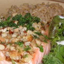 Alaska Salmon Bake with Pecan Crunch Coating Allrecipes.com photo by ...