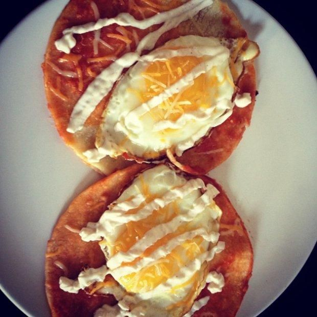 """Quesadillas """"Benedict"""" Recipe 