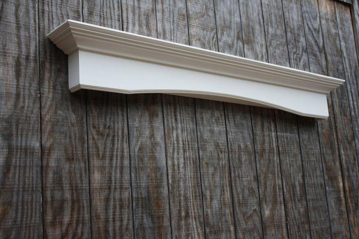 floating fireplace mantel wall shelf