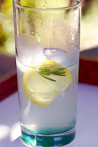 Rosemary Lemonade Recipe | Wet your whistle | Pinterest