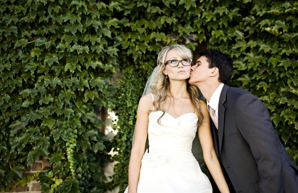 bride with glasses | Wedding Photography | Pinterest