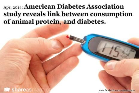 American Diabetes Association Study Reveals Link Between Consumption of Animal Protein and Diabetes