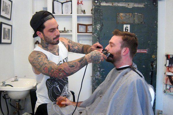Barber : More than Just a Barber Shop: Blind Barber