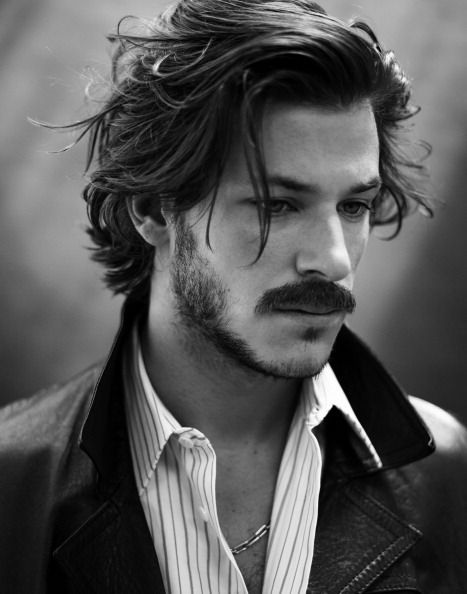 Gaspard Ulliel with MUSTACHE! :{D