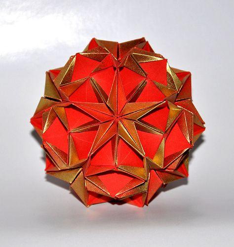 kusudama Pinterest asterix Monica Hayashi  origami  by Kusudamas Pin on