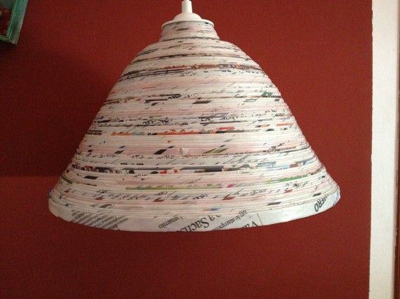 lampadario carta : Lampadario di carta HOME--lights Pinterest