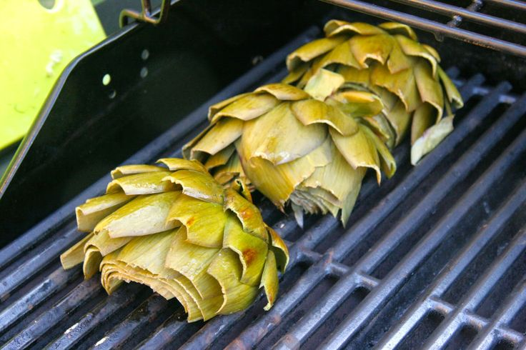 ... Who's Cookin' Now: Grilled Artichokes with Herbed Garlic Lemon Aioli