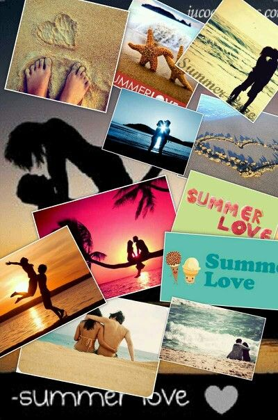 Summer love collage