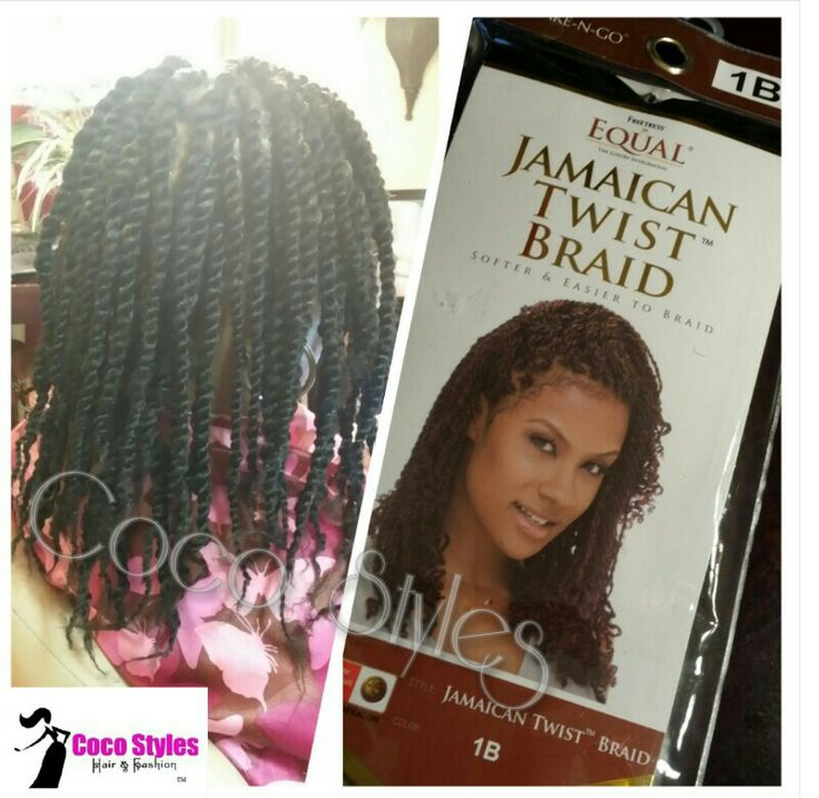 Crochet Braids Jamaican Twist Hair : Short Marley Twists #cocostyled This Equal Jamaican Twist Braid hair ...