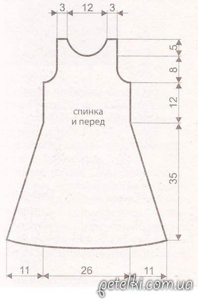 Платье для девочки своими руками для начинающих 20