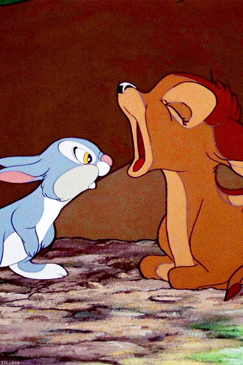 bambi and thumper - photo #14