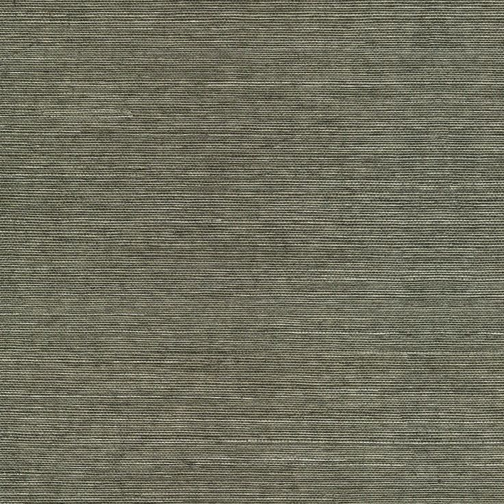 ... allen + roth Gray Grasscloth Unpasted Textured Wallpaper at Lowes.com