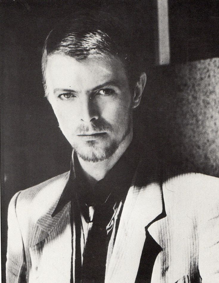 David Bowie Resembles Jude Law here. Or vice versa