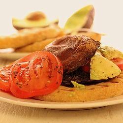 Portabella sandwiches