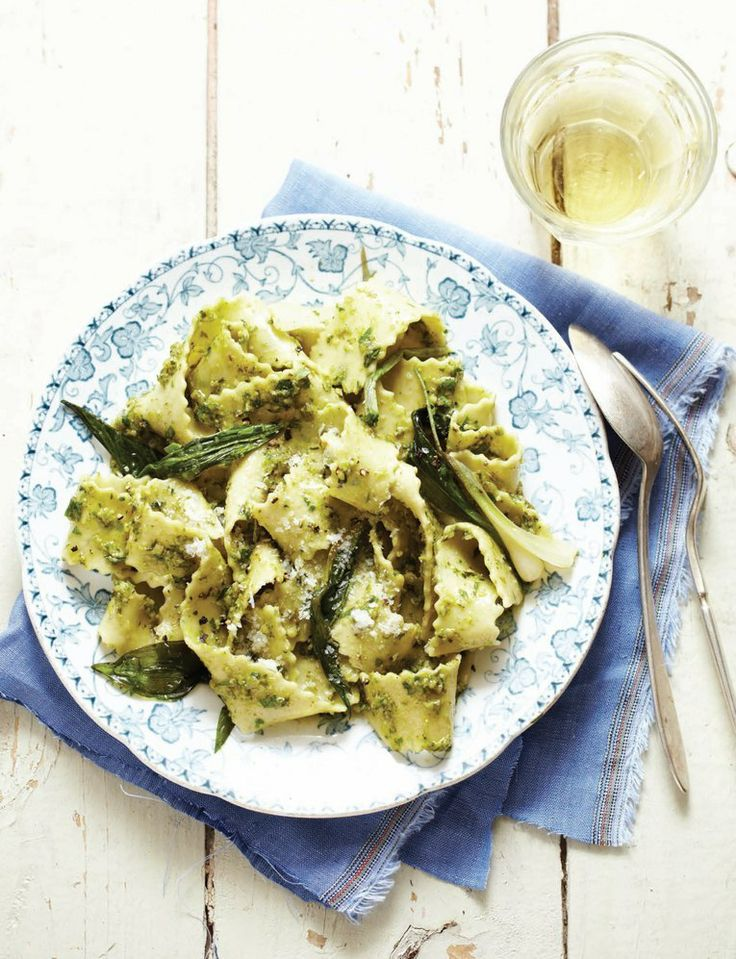 Sweet Paul - Spring 2014 - Ramp Pesto Pasta
