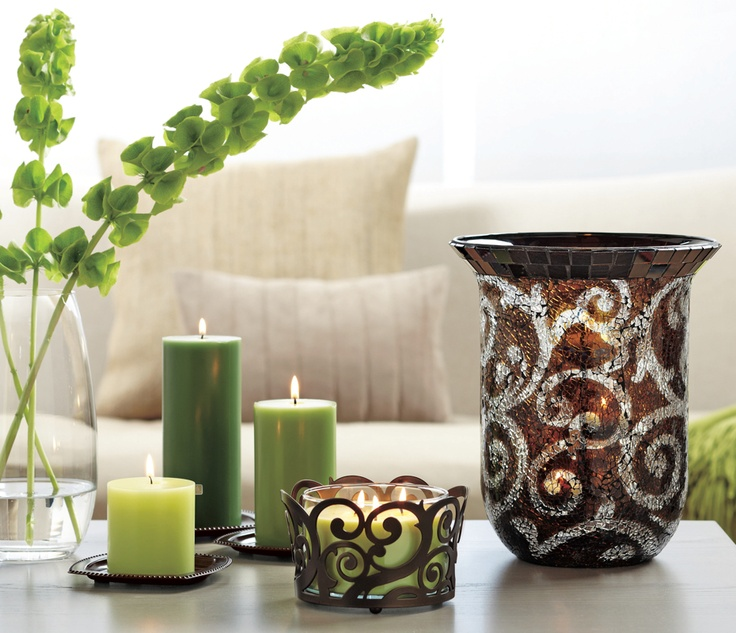 Give your candles a swirl partylite winter spring 2013 at partyli - Candle home decor photos ...