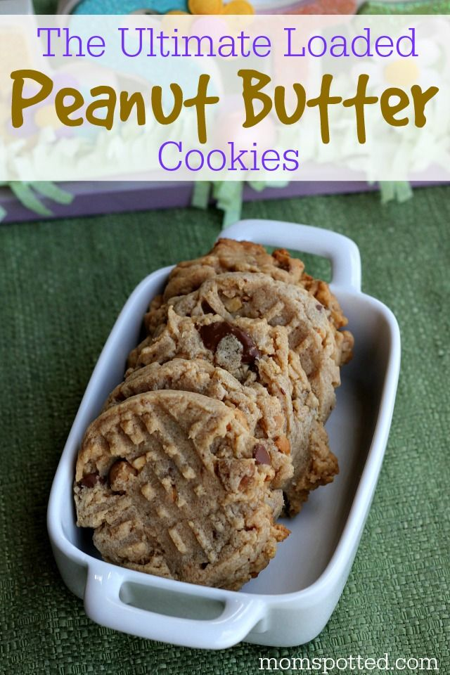The Ultimate Loaded Peanut Butter Cookies PLUS HERSHEY'S #Giveaway #B ...