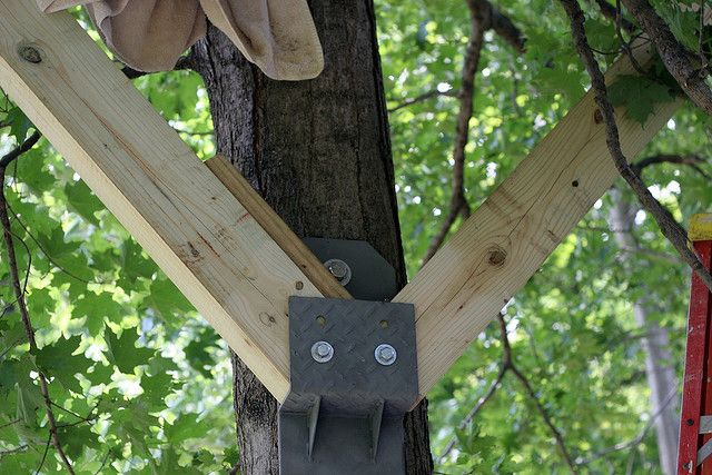 Knee brace bracket tree house ideas pinterest House brackets