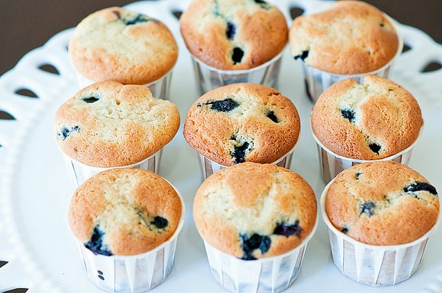 Blueberry Coffee Cake Muffins Recipe adapted from Ina Garten (a cup of ...