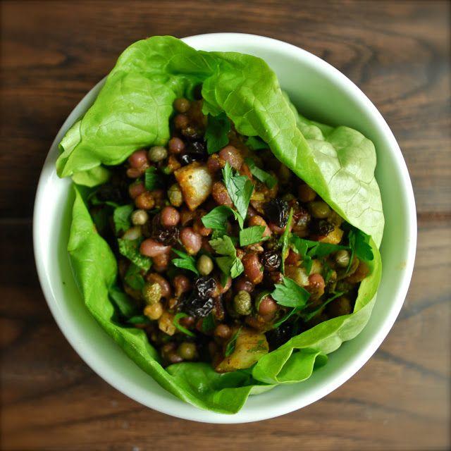 Drum Beets: curried adzuki bean salad | Food! | Pinterest